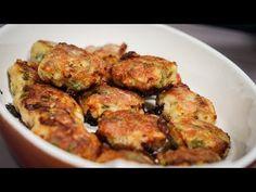Chifteluțe la cuptor cu sos de ciuperci - YouTube Meat, Chicken, Youtube, Food, Essen, Meals, Youtubers, Yemek, Youtube Movies