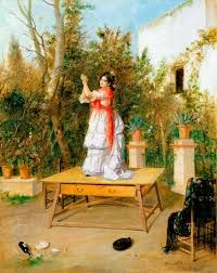 Imagini pentru jose garcia ramos Most Famous Paintings, Classic Paintings, Great Paintings, Spanish Painters, Spanish Artists, Spanish Dance, Victorian Art, Western Art, Art Boards