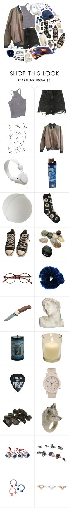 """178"" by shelbyo3o ❤ liked on Polyvore featuring Alexander Wang, WeSC, Converse, Retrò, Böker, House Parts, Topshop, Nach and Kreepsville 666"