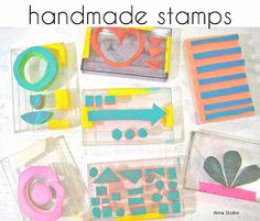 Alma Stoller: VIDEO TUTORIAL:how to make a stamp