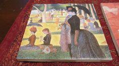 Unique Impressionist painters ceramic coasters - Set of 4. $14.99, via Etsy. Enter code pinterest10 to receive 10% off!