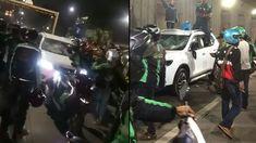 Beredar video yang memperlihatkan mobil bernomor polisi B 233 PB diamuk puluhan ojek berbasis aplikasi di underpass Senen.  Berdasarkan informasi yang didapat pada awalnya ratusan ojek daring hendak mengiringi jenazah korban kecelakaan yang merupakan seorang ojek daring bernama bernama Muhammad Rizki Ady.  Ia diketahui beralamat di kawasan Kampung Rawa Selatan RT 13 RW 05 Jakarta Pusat.  Ketika jenazahnya hendak dibawa dari rumah duka menuju pemakaman seorang sopir yang mengendarai mobil…