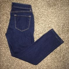 """J brand size 29 pencil jeans hemmed These were bought from another seller and they are a little to short for me. I'm 5""""8 and I can wear them with boots just fine but are about 3 inches above my ankles. So if u are 5""""6 or shorter id say these are perfect. They have somewhat of a higher waist which makes butt look amazing. #jbrand #Size29jeans J Brand Jeans Skinny"""