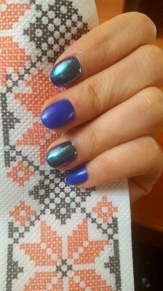 Blue 💙 nails 💙