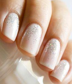 Simple Elegant Manicure for Engagement