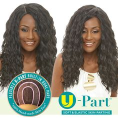 JANET COLLECTION SYNTHETIC HAIR U PART WIG TANGO