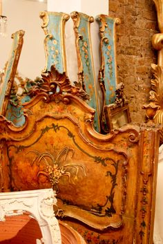 From an area called Shoreditch in London I found a wonderful shop with French furniture reminiscent Of Marie Antoinette, I fell in love!