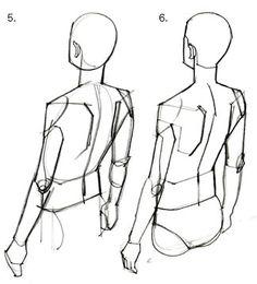 質問5.下から見た顔  後ろ斜め上から見た人物 Body Reference Drawing, Human Figure Drawing, Human Reference, Body Drawing, Drawing Base, Anatomy Reference, Art Reference Poses, Anatomy Sketches, Anatomy Drawing