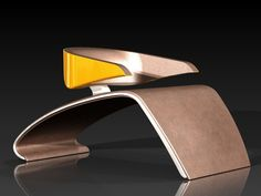 PORSCHE CHAIR  by Rohan Verma I don't care what you say, it's not the same as the bucket seat in my old Speedster.