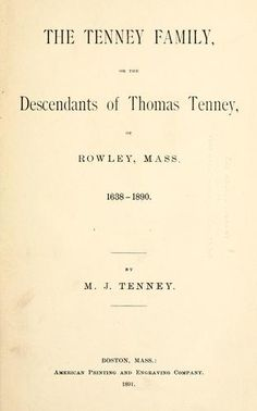 """Tenney 