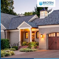 From timeless carriage house style doors to sleek and streamlined contemporary models, Broten provides plenty of options. Because when it comes to curb appeal, there's no such thing as a one-size-fits-all approach. Visit www.broten.com and check out all of our products! Carriage Style Garage Doors, Curb Appeal, Things To Come, Mansions, House Styles, Outdoor Decor, Modern, Home, Design