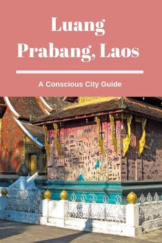 What to do in Luang Prabang Loas. Things a sustainable traveler would want to add to their itinerary. My experience with ethical travel in Luang Prabang. Travel Advice, Travel Guides, Travel Tips, Travel Destinations, Travel Goals, Luang Prabang, Laos Travel, Asia Travel, Hong Kong