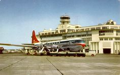 Northwest Orient Airlines Boeing Stratocruiser at Seattle-Tacoma Airport. I worked at SeaTac for over 6 years as a ramper. I loved that job and coworkers from that job are some of my closest friends. Many are life long friends.