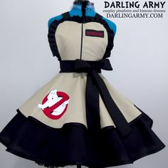 Ghostbusters Cosplay Pinafore Dress Accessory | Darling Army