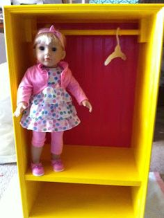 "Nonni and B: Closet For an 18"" Doll"