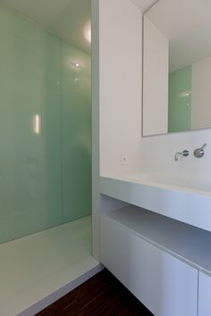 like the colors. could do a solid wall in the shower instead of a glass wall.