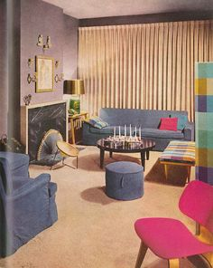 inspiration: update the1960 Better Homes & Garden Decorating Ideas