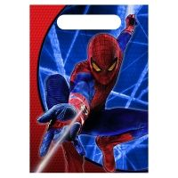 Spiderman Party Supplies Loot Bags #partysupplies