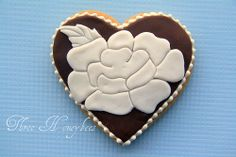 Wedding Heart Cookie