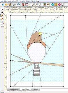 Shape Moth: Designing paper piecing patterns in EQ7 - tutorial