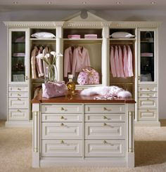 White Linen Closet by Dolce Home Interiors