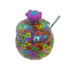 Sweet Sugar bowl by MIRAKRIS on Etsy, $37.00