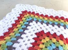 Resultado de imagen de granny square blanket.. This is so cute!