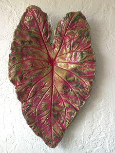 Caladium Leaf Casting.
