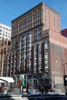 Manhattan building - William Le Baron Jenney - Chicago (1890)