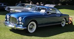 Chrysler Ghia Special G1 - more exclusive than a Bentley Continental of the same period.