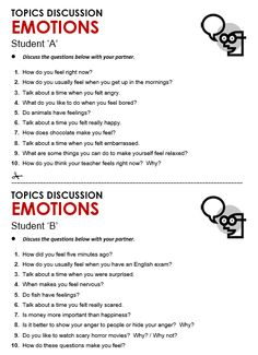 emotions lesson plan for thursdays