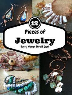 """Click on the link for a Free Report: """"12 Pieces of Jewelry Every Woman Should Own"""".... https://thechirpingfrog.leadpages.co/12-pieces-of-jewelry/"""