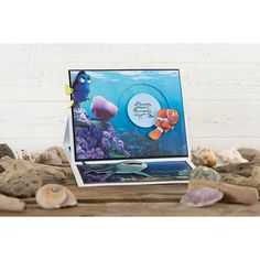 Disney Finding Dory Backing Paper Pad No Colour