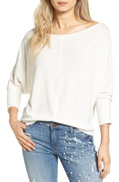Project Social T Seam Front Dolman Tee