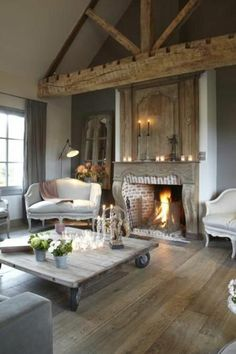 37 terrific ideas to get an authentic french country living room French Country Wall Decor, French Country Interiors, French Country Living Room, French Decor, Country Decor, Home Interior, Interior Design Living Room, Living Room Designs, Living Room Clocks