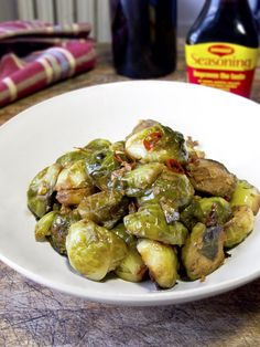 Brussel sprouts with Maggi seasoning