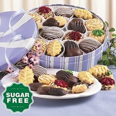 7 12 oz net wt SugarFree Cookies from The Swiss Colony -- You can get additional details at the image link.