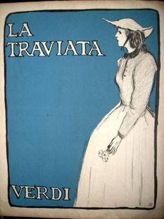 OPERA -LA TRAVIATA- VERDI - SHEET MUSIC - LYRICS -BILINGUAL ITALIAN/SPANISH | eBay