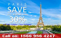 Get attractive deals on Paris holiday packages.Get The Best Airfare Deals and Special Offers Today Log on to www.wtnonline.com or Call Toll Free 1866 986 4247