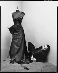 Irving Penn Corner Portrait, Charles James, 1948 for Vogue Magazine. Copyright Condé Nast Publications, Inc.