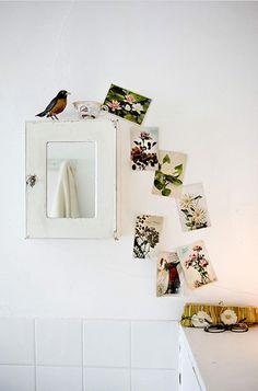 Stationary as art. I like the casual arrangement.