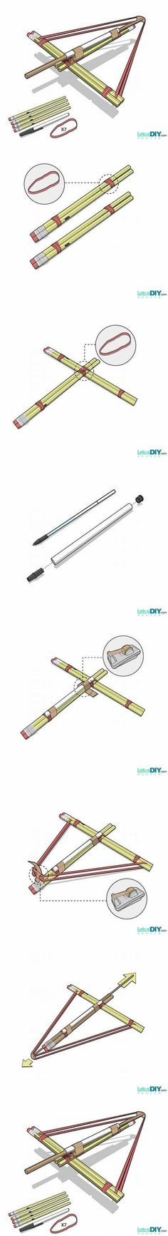 DIY Pencil Bows Internet Tutorial