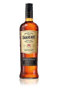 Bacardi Oakheart redesign 2016