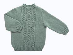Rentrée au chaud garantie avec ce gros pull irlandais ! Présenté dans le n° de septembre 2010 d'Enfant Magazine, ce classique se revisite en couleur, mais conserve ses points traditionnels à base de torsades fantaisie et de jersey endroit.