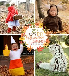 25+ Easy DIY Toddler Halloween Costumes For The Last Minute Mom http://www.kaylaaimee.com/2013/10/diy-toddler-halloween-costumes/?utm_campaign=coschedule&utm_source=pinterest&utm_medium=Kayla%20Aimee%20(My%20Blog%20Posts)&utm_content=25%2B%20Easy%20DIY%20Toddler%20Halloween%20Costumes%20For%20The%20Last%20Minute%20Mom