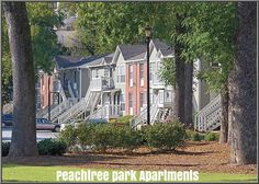 What residents can expect from Peachtree park apartments?