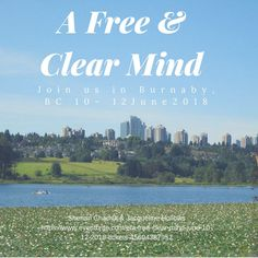 Looking forward to Vancouver for this retreat and for some quiet time