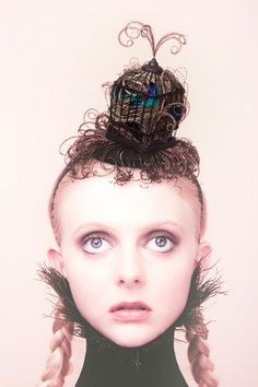 Seeking hat or headpiece inspiration for our upcoming Mad Fashion Tea Party being held on Sunday, August Well look no further, as . Avant Garde Hair, Wedding Etiquette, My Art Studio, Fantasy Hair, Hair Art, Headpiece, Headdress, Portrait Art, Hair Designs