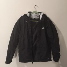 Adidas 3-in-1 Storm Jacket Adidas jacket in Man's M. Got this for $250 and have to let it go. Comes with a fleece inner jacket that can be worn separately. Durable jacket and in good conditions!✨firm price⛔️now listed cheaper onⓂ️ Adidas Jackets & Coats