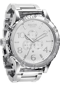 Nixon 51-30 High Polish White Chrono watch is now available on Watches.com. Free Worldwide Shipping & Easy Returns. Learn more.
